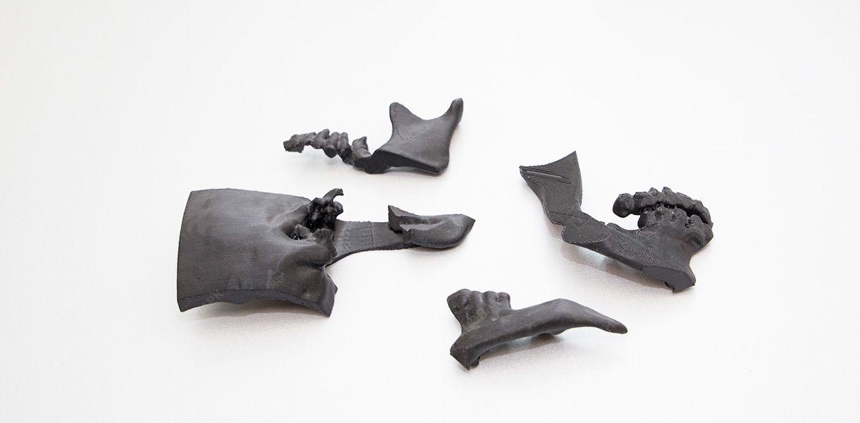 Челюстно-лицевые шаблоны. Точная модель челюсти в виде физического макета для показа принципа работы челюстно-лицевых костных имплантов