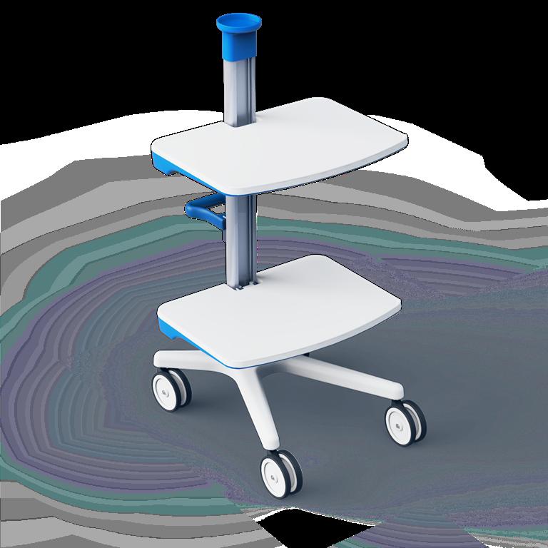 Медицинская мобильная стойка