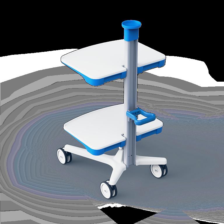 Мобильная стойка промдизайн и произвоство