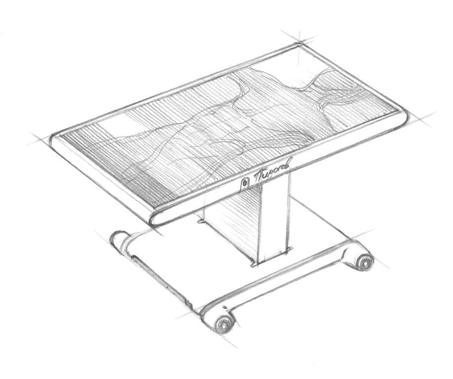 Разработка дизайна и софта интерактивного стола Пирогов