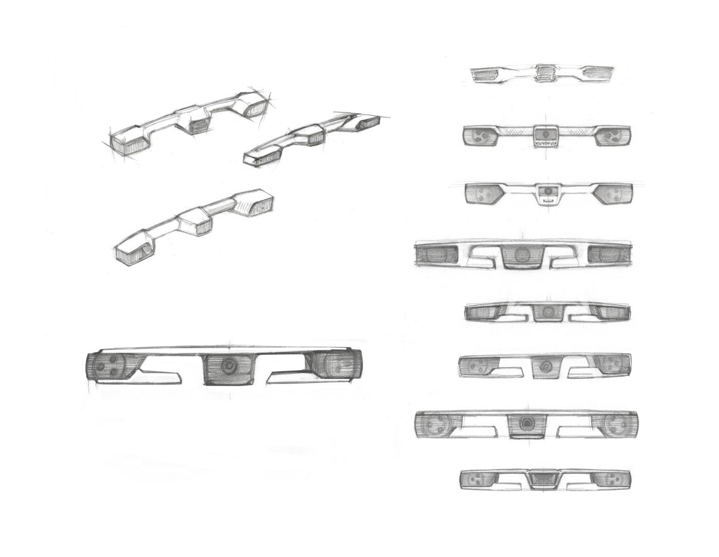 Промышленный дизайн - стереокамера